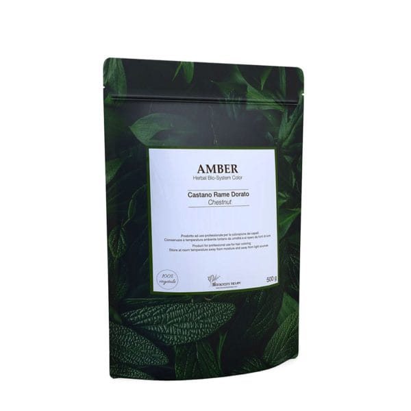 AMBER – Castano rame dorato